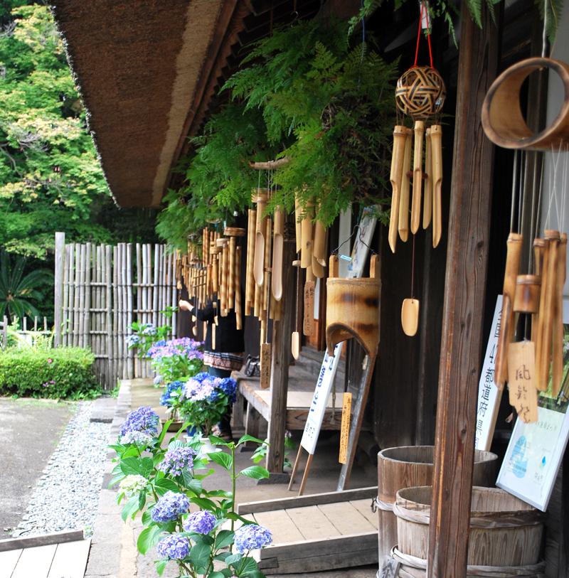 涼しくてどこか懐かしい…。開成町「瀬戸屋敷風鈴まつり」へ行ってきました。