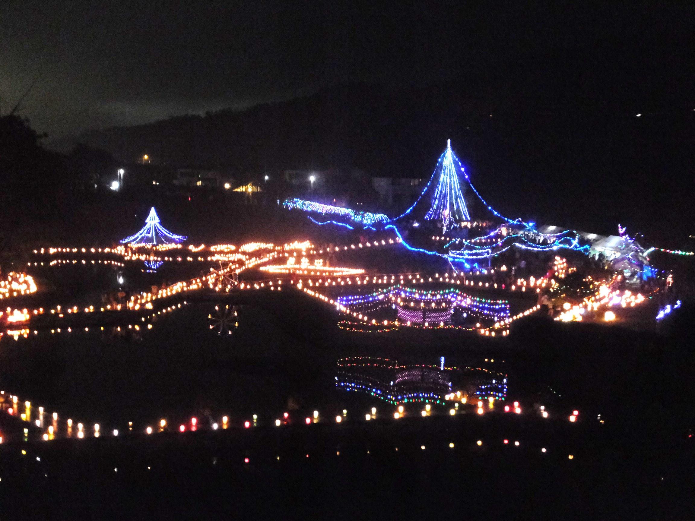 中井町『あかりの祭典』いよいよ明日開催です!