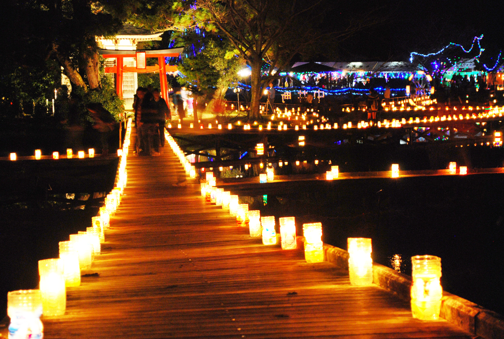 本日開催!中井町『あかりの祭典』癒しのあかりと地域の絆に心が温まります!