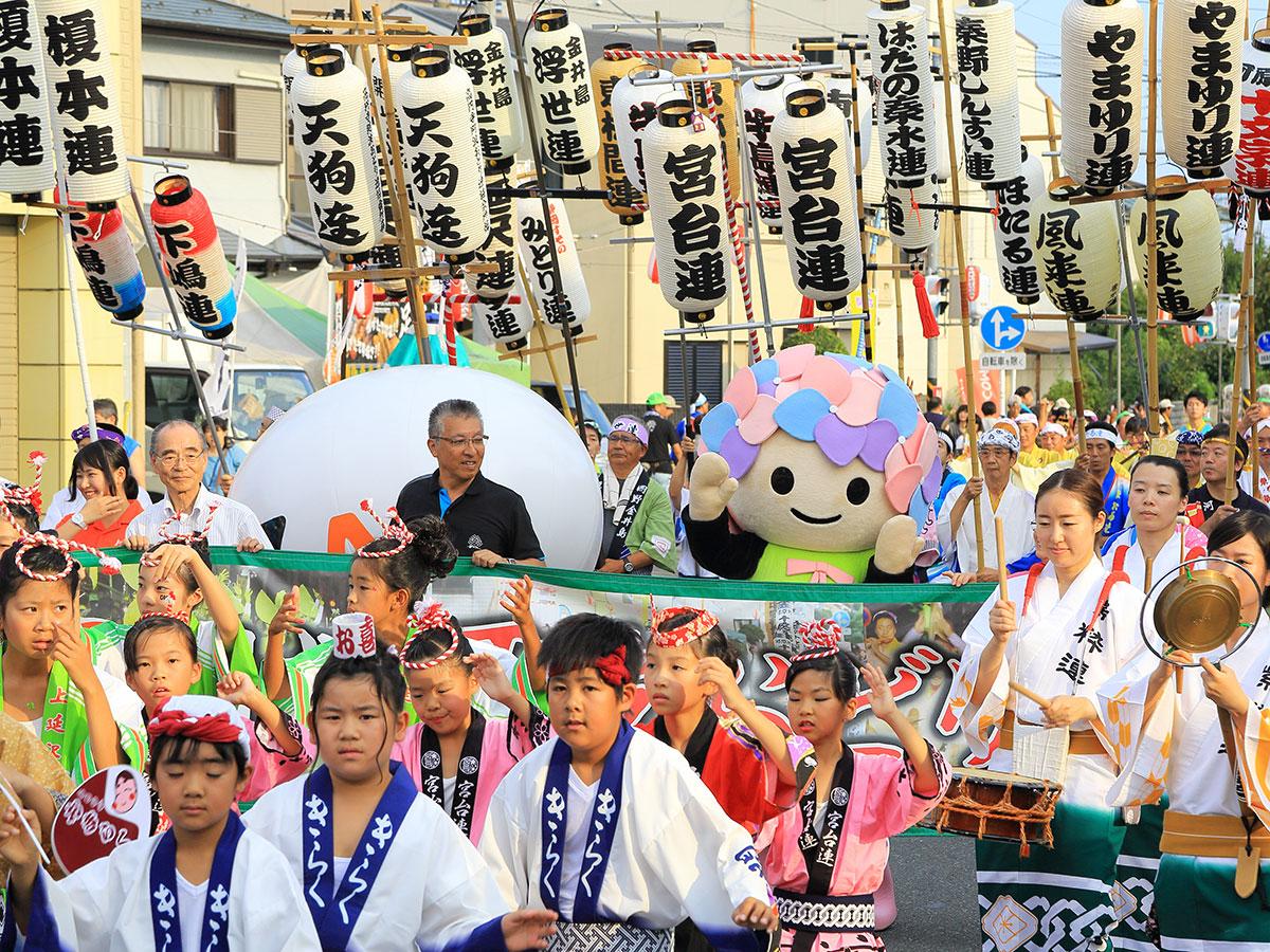 えらいやっちゃ、えらいやっちゃ、ヨイヨイヨイヨイ 2017年『開成町阿波おどり』は9月9日開催