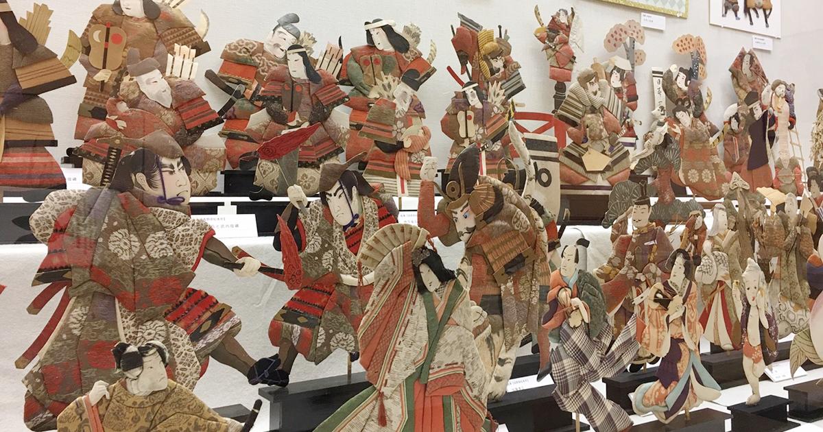 2017年南足柄市郷土資料館「押絵展」