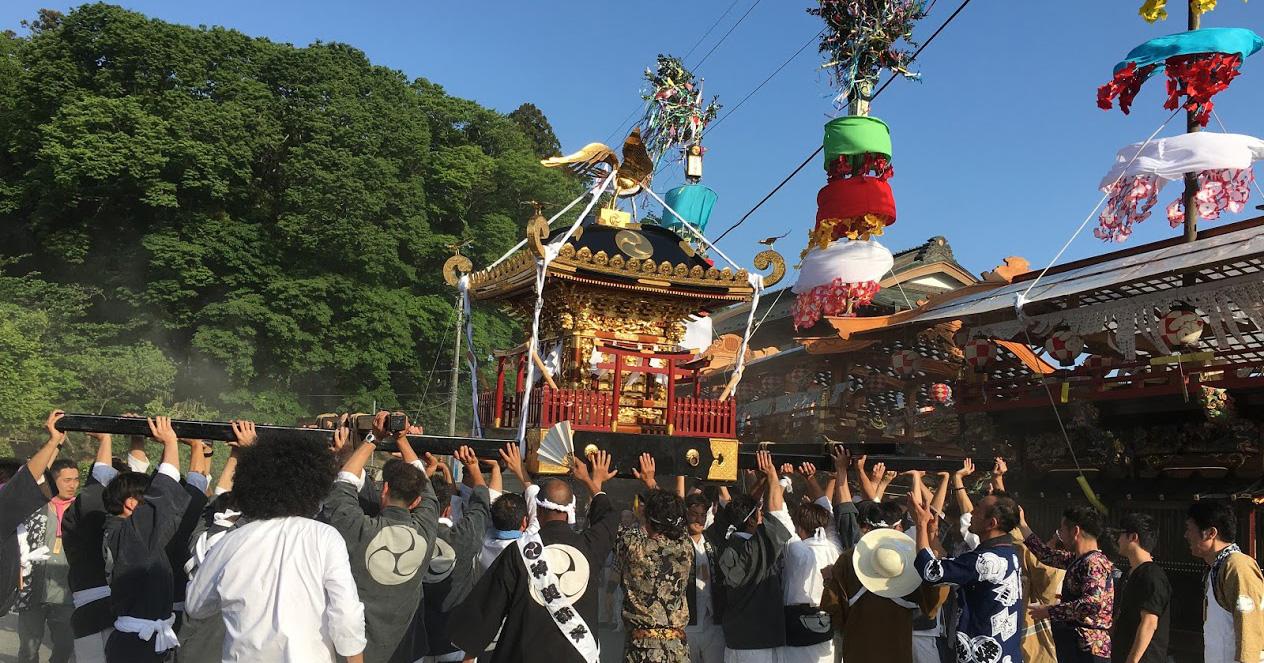 2018年中井町「五所八幡宮例大祭」で中井町の伝統に触れる