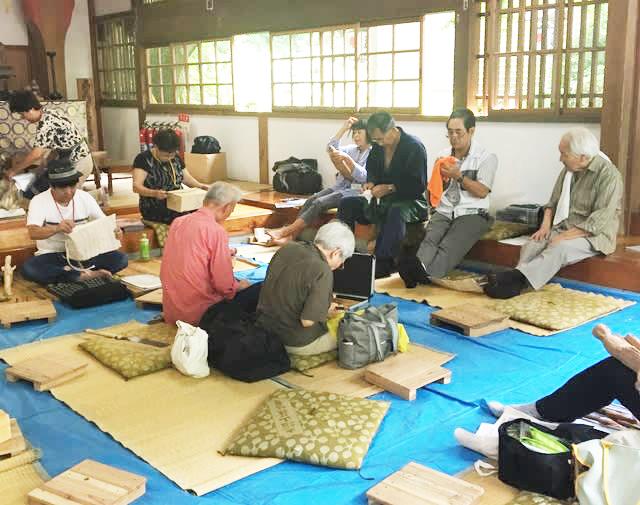 大雄山最乗寺「仏像を彫る教室」作品展